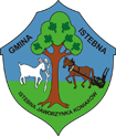 Istebna official commune emblem